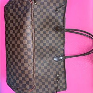 Louis Vuitton Neverfull GM, Damier Ebene.